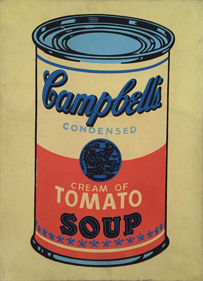 Warhol - Campbells Soup Can